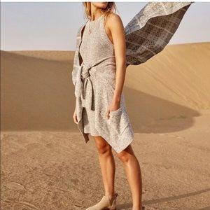 Madewell Valley Marled Sleeveless Sweater Dress